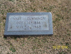 Mary <i>Howard</i> Cummings
