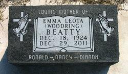 Emma Leota <i>Woodring</i> Beatty