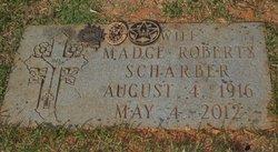 Madge <i>Roberts</i> Scharber