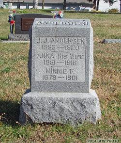 Anna <i>Petersen</i> Andersen