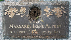 Margaret Irene Stump Alphin