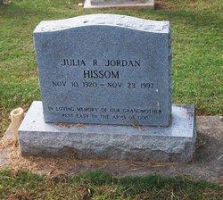 Julia R. <i>Jordan</i> Hissom