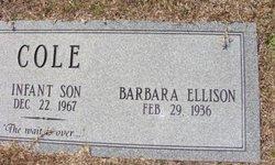Barbara <i>Ellison</i> Cole