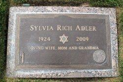 Sylvia <i>Rich</i> Adler
