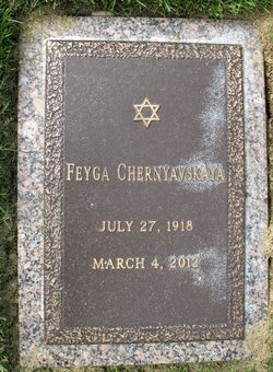 Feyga Chernyavskaya