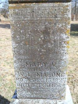 Mary V <i>Sneed</i> Malone