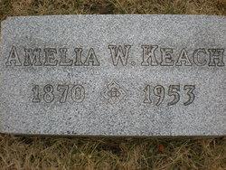 Amelia H <i>Watt</i> Keach