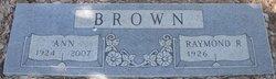 Anna Grace Ann Brown
