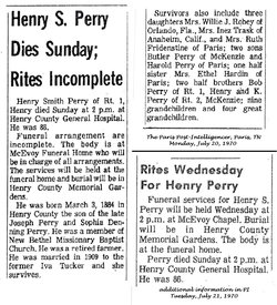 Henry Smith Perry