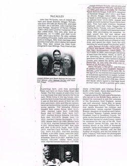 Mary Jane <i>Burkhammer</i> Mccauley