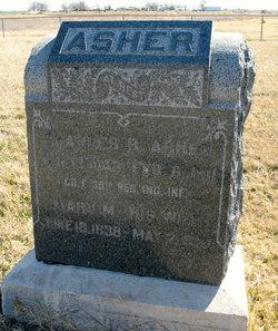 Mary Margaret <i>Nowell</i> Asher