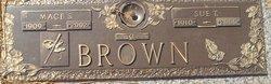 Mace Stanley Brown