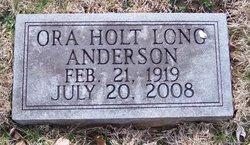 Ora Hope <i>Long</i> Anderson