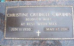 Christine <i>Credille</i> Gordon