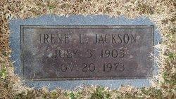 Irene S <i>Luton</i> Jackson
