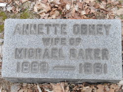 Annette <i>Obney</i> Baker