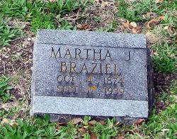 Martha Jane <i>Scruggs</i> Braziel