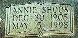 Annie Elizabeth <i>Shook</i> Daniels
