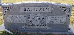 Lola M. <i>Thurman</i> Baldwin