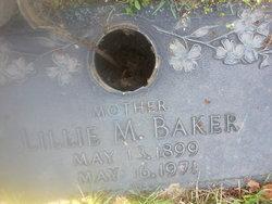 Lillie Mae <i>Parker</i> Baker