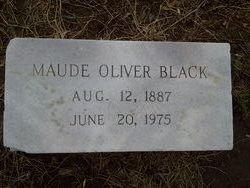 Maude Alice <i>Oliver</i> Black