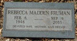 Rebecca <i>Madden</i> Fruman