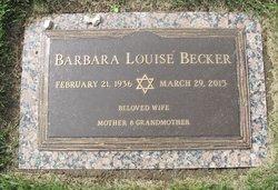 Barbara Louise Becker
