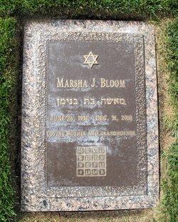 Marsha J Bloom