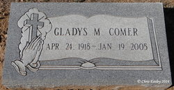 Gladys <i>Kirtley</i> Comer