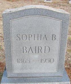 Sophia <i>Braswell</i> Baird