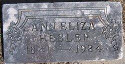Ann Elizabeth <i>Hill</i> Heslep