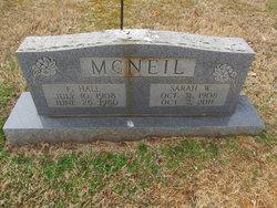 F. Hall McNeil, Sr