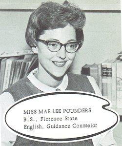 Mae Lee Pounders