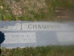 Vollie Lee Champion