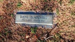 Mary Elizabeth Birdie <i>Blackwell</i> Blackwell