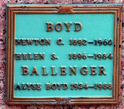 Beatrice Alyse <i>Boyd</i> Ballenger