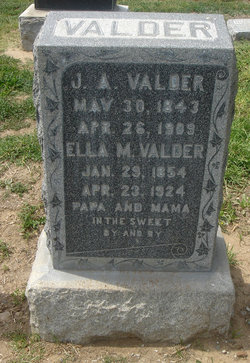 J. A. Valder