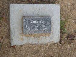 Lottie <i>Littlefield</i> Alec