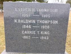 Carrie <i>Thompson</i> King