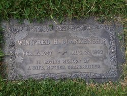 Winifred Harriet <i>Young</i> Blankenship