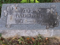 Mary <i>Voorhies</i> Daugherty