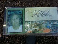 Marian G. <i>Schuetz</i> Williams
