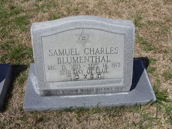 Samuel Charles Blumenthal