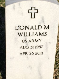 Donald M Williams