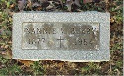 Nannie V. <i>Lemaster</i> Beery