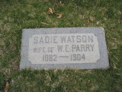 Sarah Sadie <i>Watson</i> Parry