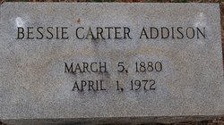 Bessie <i>Carter</i> Addison