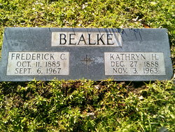 Fredrick C Bealke
