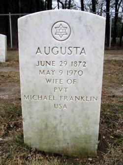 Augusta Gussie <i>Federlein</i> Franklin