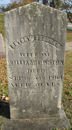 Betsey <i>Burnham</i> Owston
